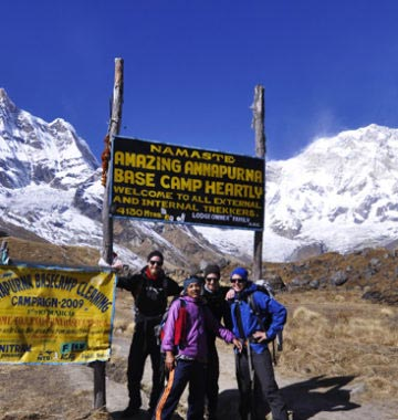 The best trip Annapurna Base Camp Trek for your holiday in Nepal.