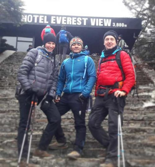 Gokyo Ri and Renjo La Pass, We did a 12 days trek to Gokyo Ri and Renjo la Pass in November with our guide Dinesh Gurung and porter Lakpa, an unforgettable and fantastic experience, our guide was attentive and caring about us all the time.