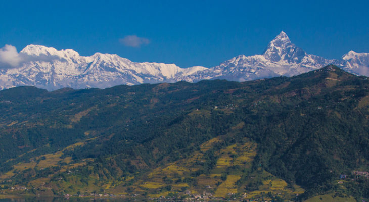 Nice view from Pokhara