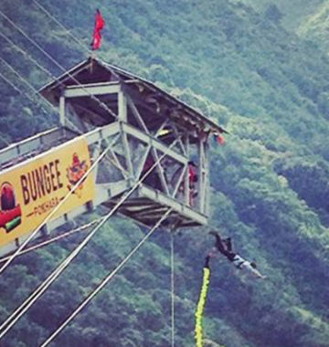 Bungy Jump in Pokhara