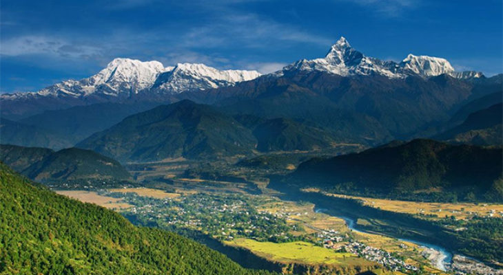 Awesome view of Annapurna Range