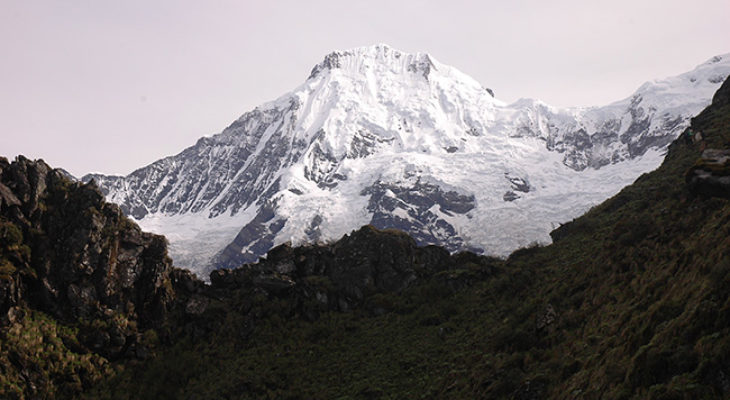 Mt. Ganesh Himal from Ruby valley