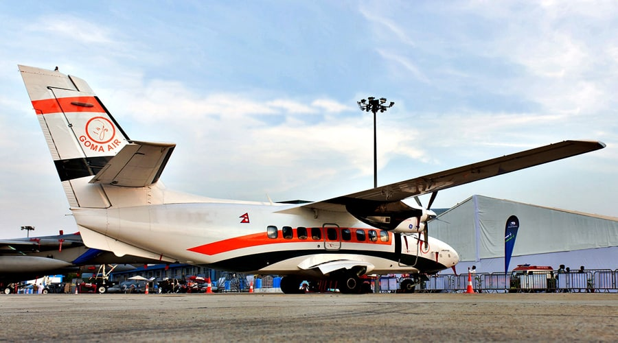 Two Let 410 to Arrive by Next Week (Goma Air)