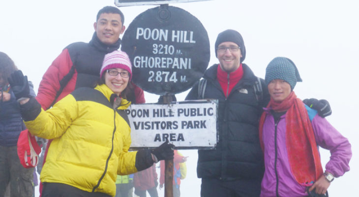 Group picture in Poon Hill 3210M