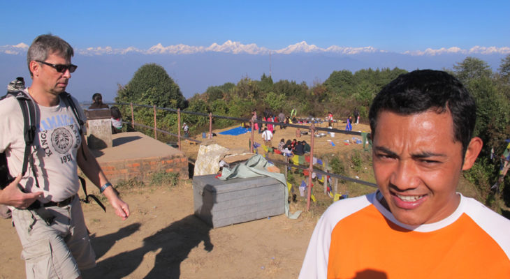 Mountain view from Nagarkot view point