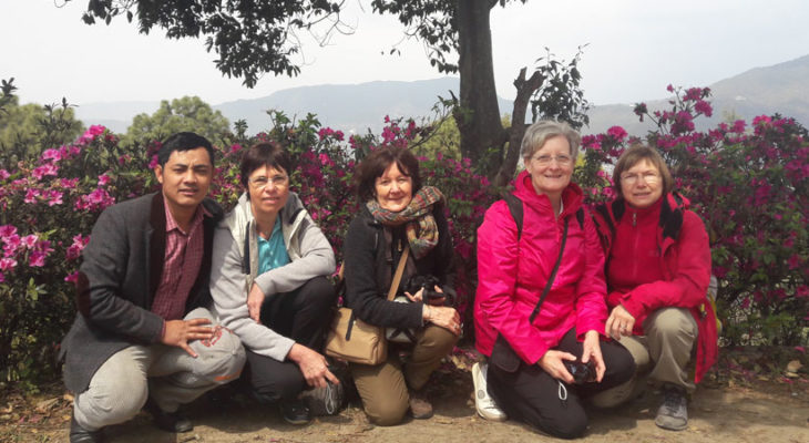 Kapan Monastry with group picture