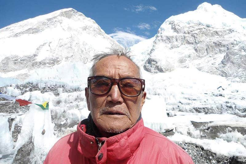 Nepal's Mountaineer Sherchan Eyes Everest Crown at the Mid-80s