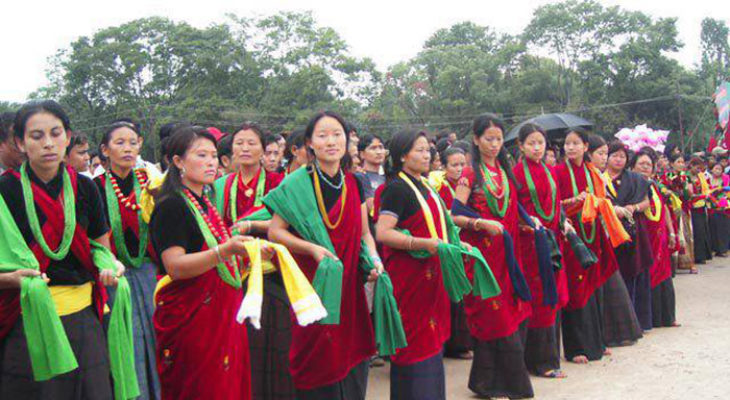 Mother Group welcome dance