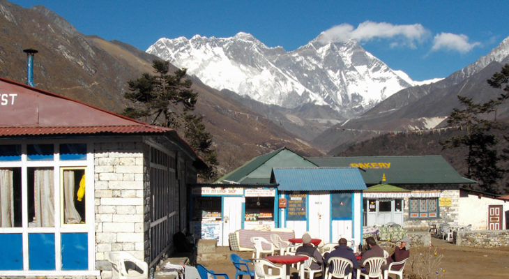 Mt. Everest photo from Tyangboche