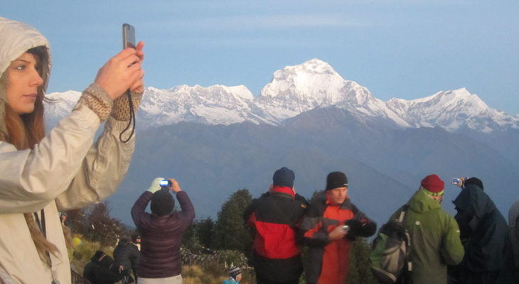 Mt. Dhaulagiri from Poon hill