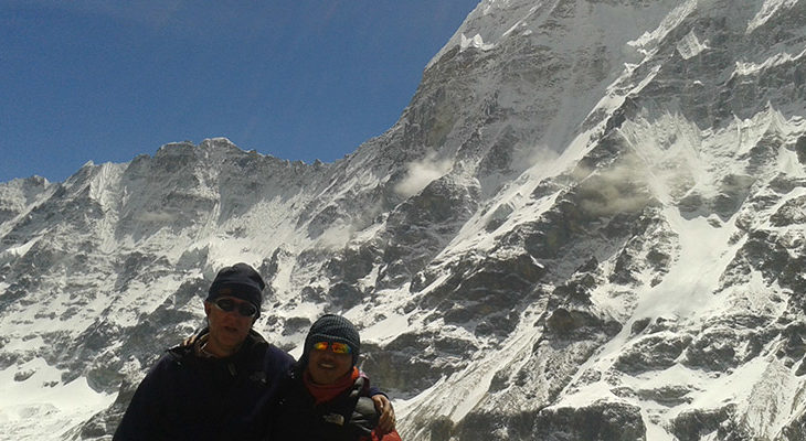 Picture from Kanchenjunga
