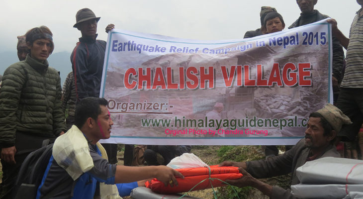 Providing things for villagers.
