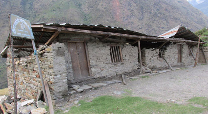 School condition in first Earthquake.