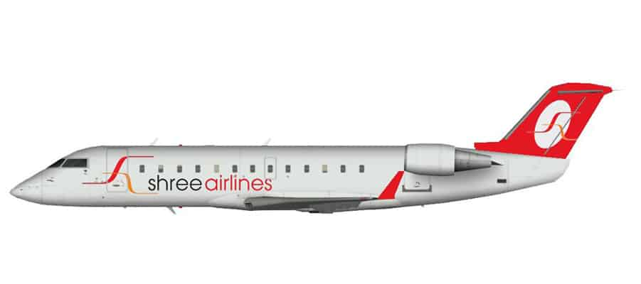 Shree Airlines Adds Third Bombardier Aircraft to its Fleet