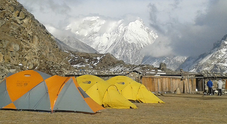 Camp picture in Lonak