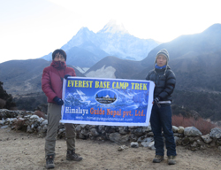 Trekking to the Base Camp