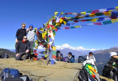 Explore Annapurna Base Camp Trek with incredible Mountains view