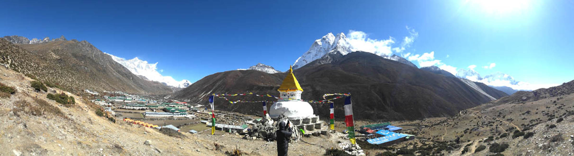 Nice view from Dingboche