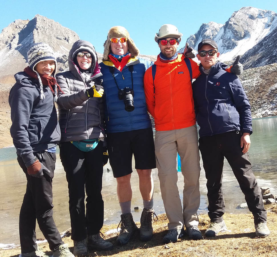 Great company with great office crew for Annapurna Circuit Trek
