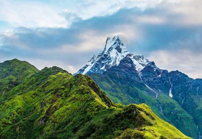 Beauty of Mardi Himal Trek is start from Pokhra and it takes a all the forest trail in Annapurna area.